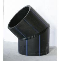 HDPE焊制大口径弯头 PE管件