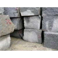 湖南花崗巖礦山荒料 芝麻灰石材荒料 礦山石材出售