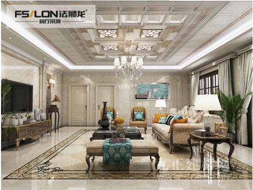 法狮龙客厅吊顶向大家介绍如何装修客厅吊顶