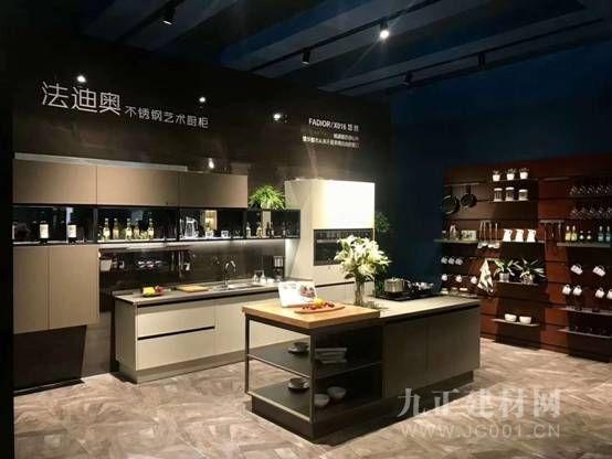广州建博会法迪奥不锈钢橱柜人气爆棚,品牌力量厚积薄发