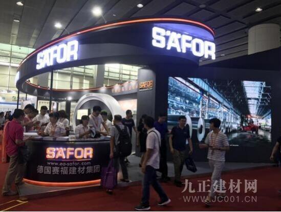 赛福智能锁新品亮相2018广州建博会 树立智能锁市场风向标