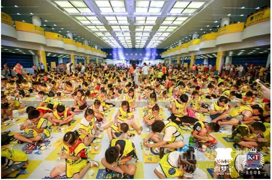 看看孩子眼中的世界,喜梦宝助力千名小朋友挑战吉尼斯世界纪录!