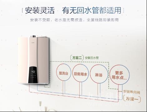 双11燃气热水器怎么选?海尔联合天猫推出金色外观零冷水燃气热水器!图片