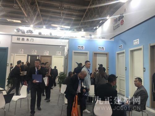 """""""朗月清风,森罗万象""""——朗森木门华丽亮相北京门展!"""