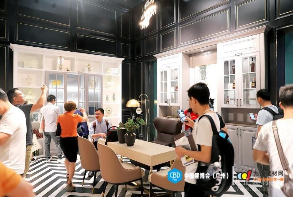 亮剑中国建博会(广州) 百年印象展现实木整装极致美学