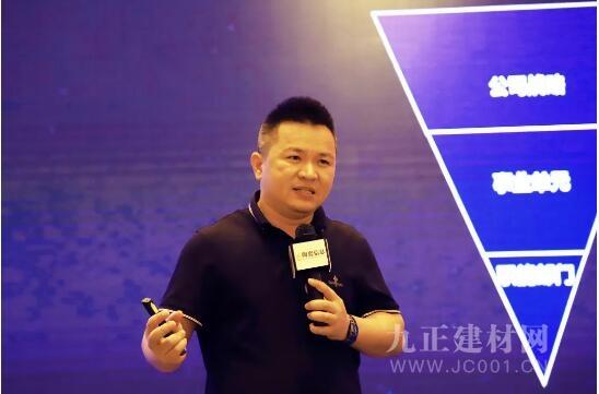 大角鹿瓷砖董事长南顺芝剖析当下建陶时局:顺境逆境都是机会