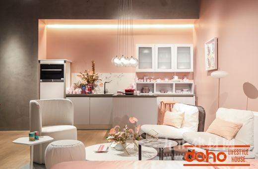 doho欧洲进口全屋定制主题空间,专属您的粉色质感生活