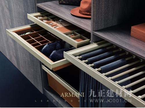 衣櫥換季收納術|為秋冬騰出更多空間的阿瑪尼衣柜五金