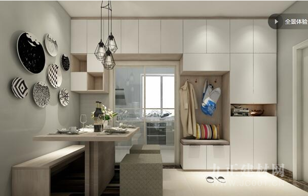 百强定制丨三室一厅,简约设计成就雅致生活
