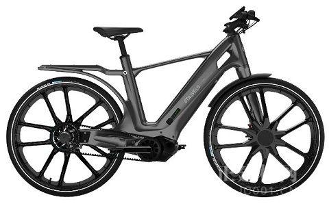 索尔维Xencor™ LFT 被Stajvelo用于制造首款全聚合物电动自行车