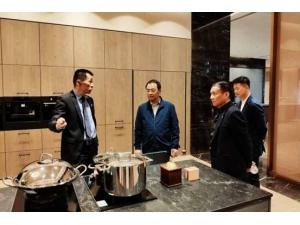 中國綠色家居之都荊門欲打造進口全屋定制典范,KIC優先被市領導考察