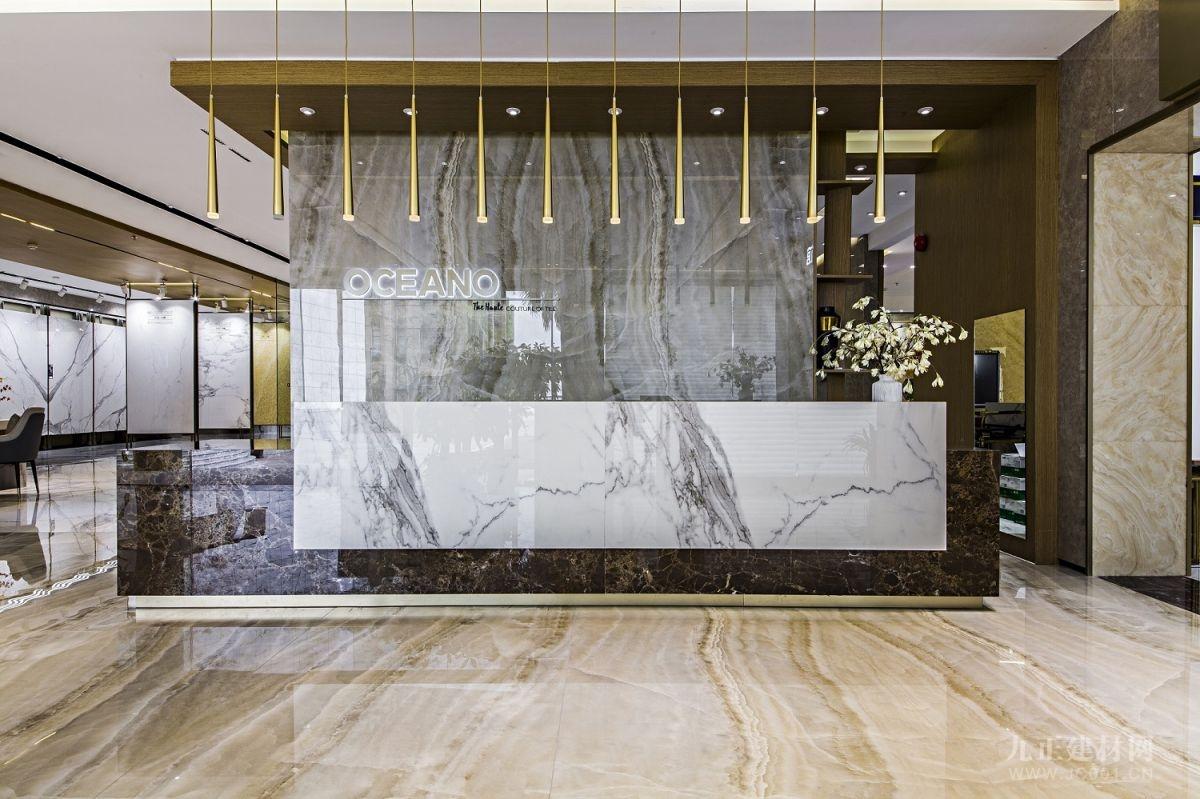 最美展厅 |汇聚高端家居设计灵感,欧神诺总部展厅全新亮相