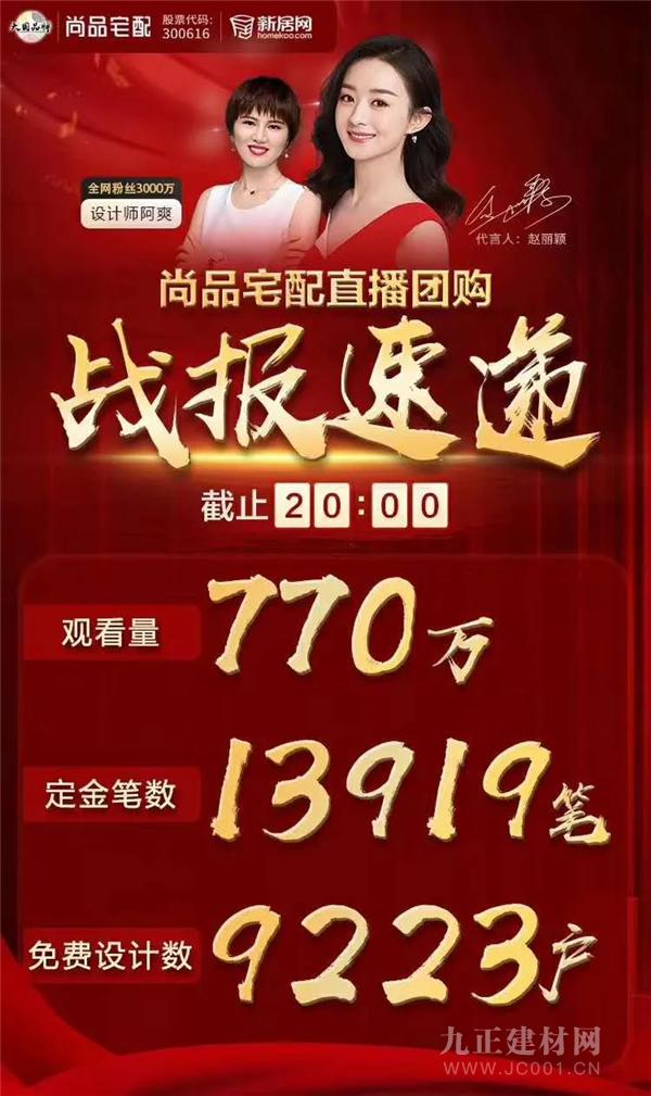 """770万人在线!尚品宅配""""新模式""""迎来线上开门红"""