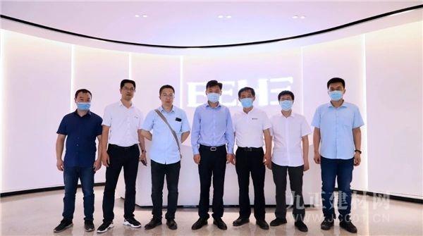【大牌动态】广东季华实验室专家组成员一行到访亿合门窗