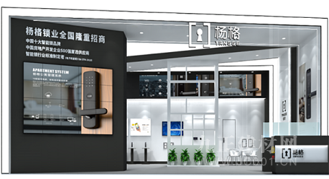广州建博会智能锁商机无限 杨格智能门锁邀您共赢5G智控未来!