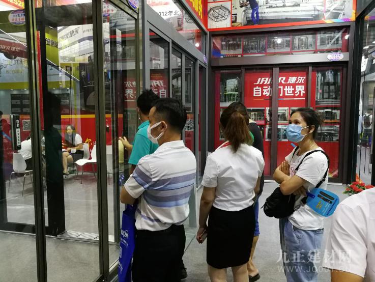 疫后首秀 冠军之约 捷尔自动门亮相中国建博会(广州)引关注