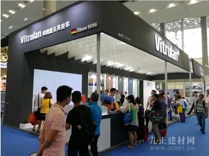 德国维图蓝石英壁布 携创新型产品强势登陆2020中国建博会(广州)