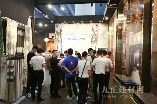 """""""变色龙""""打印板2020中国建博会(广州)精彩演绎科技与艺术的融合"""