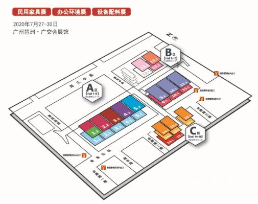 CIFF广州 | 入场逛展配套指引,再不拿走就开展啦!
