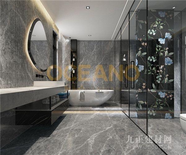 欧神诺2021新品|8款现代风卫浴间设计,总有1款适合你