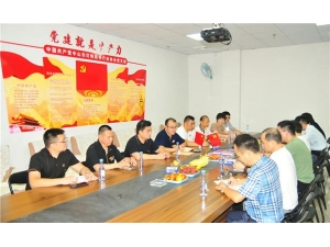 中山市灯饰照明行业协会党支部召开中国共产党成立100周年座谈会