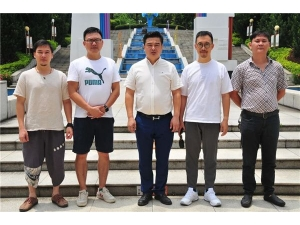 崔福才会长一行赴中山技师学院洽谈教育照明捐赠事宜