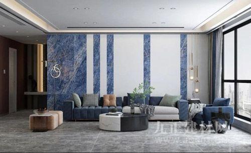 这样质感无限的空间,尽在高德·岩板瓷砖