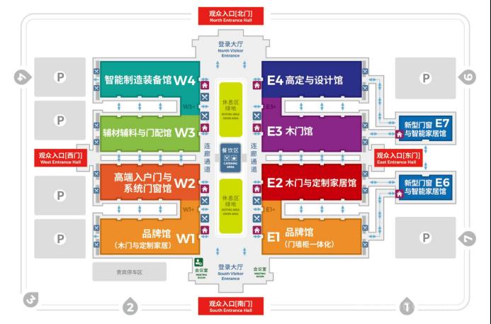 全國建材家居市場換發新機, CIDE 2022北京門業與定制展綻放行業新姿態!
