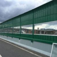 四川公路透明板声屏障工地隔音围挡墙亚克力声屏障