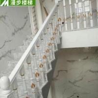漫步家装室内实木楼梯 实木楼梯扶手