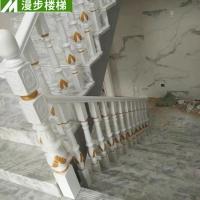 楼梯立柱批发 实木楼梯设计定制