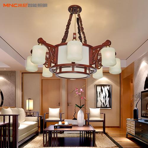 米尼智能家居中式吊燈現代簡約客廳臥室