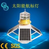 一體化太陽能航標燈 350燈質四面調節航道燈