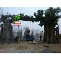 菏澤水泥樹大門景觀樹大門優秀團隊