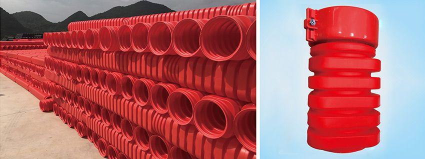 MUMPP八边型高压电力电缆单壁波纹管