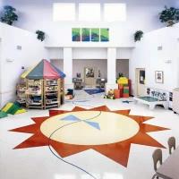 成都高品质PVC塑胶地板优质加厚耐磨专业设计施工维护