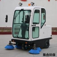 电动驾驶式全封闭工业地面扫地机
