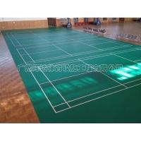 塑胶羽毛球场建设 专业羽毛球场建设