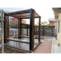 大连塑木廊架|大连塑木藤架|大连塑木花架|大连塑木葡萄架