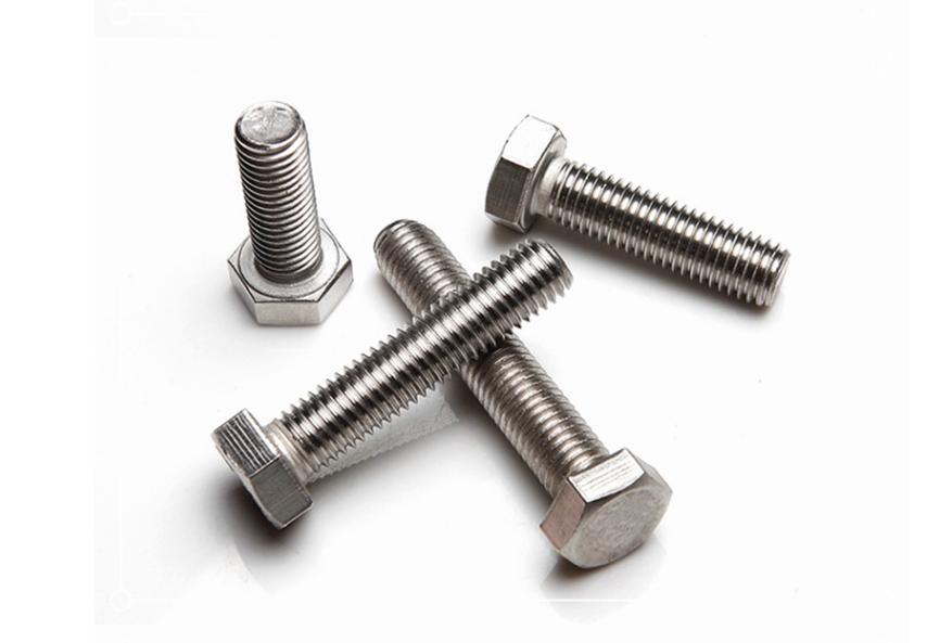 外六角螺栓,DIN933六角螺絲,1/4-20美制、公制庫存