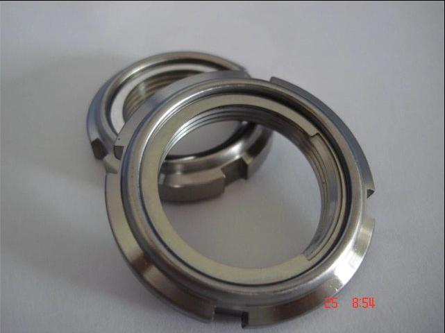 轴承圆螺母,全金属自锁圆螺母,FUNT/FUNTS防松圆螺母