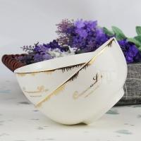 廠家批發陶瓷碗 骨質瓷家用米飯碗