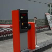 小區停車場車牌識別收費道閘機