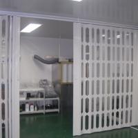 安装销售洁净空间保温隔离折叠门