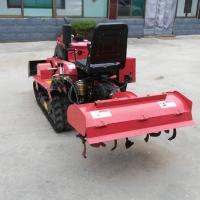 乘坐式旋耕机 果园山地用的履带式微耕机 小马力开沟机