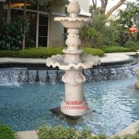 人造砂岩喷泉雕塑城市景观水景雕塑园林景观喷泉摆件