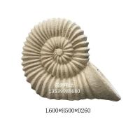 人造砂岩海螺|流水海螺雕塑|海螺水景雕塑