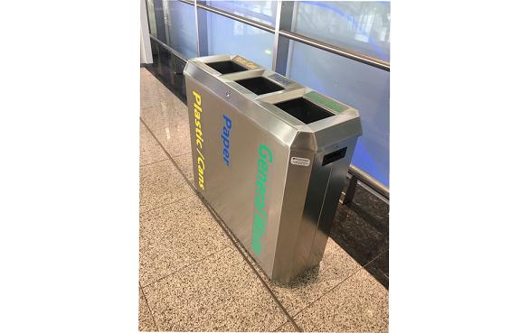 环保四分类垃圾箱