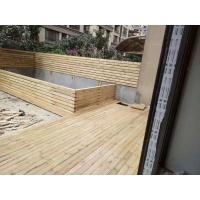 重庆户外花园实木地板防腐木芬兰木地板花园栏杆围栏栅栏葡萄架花