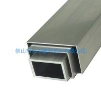 薄壁铝方管挤压,幕墙木纹铝方管批发,造型铝合金方管定做